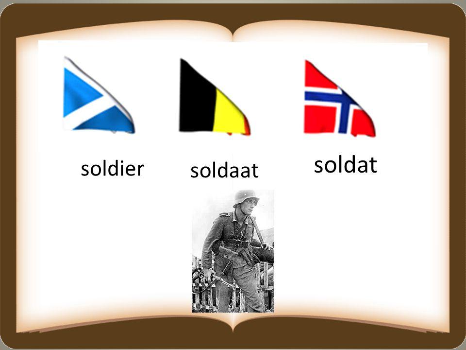 soldat soldier soldaat