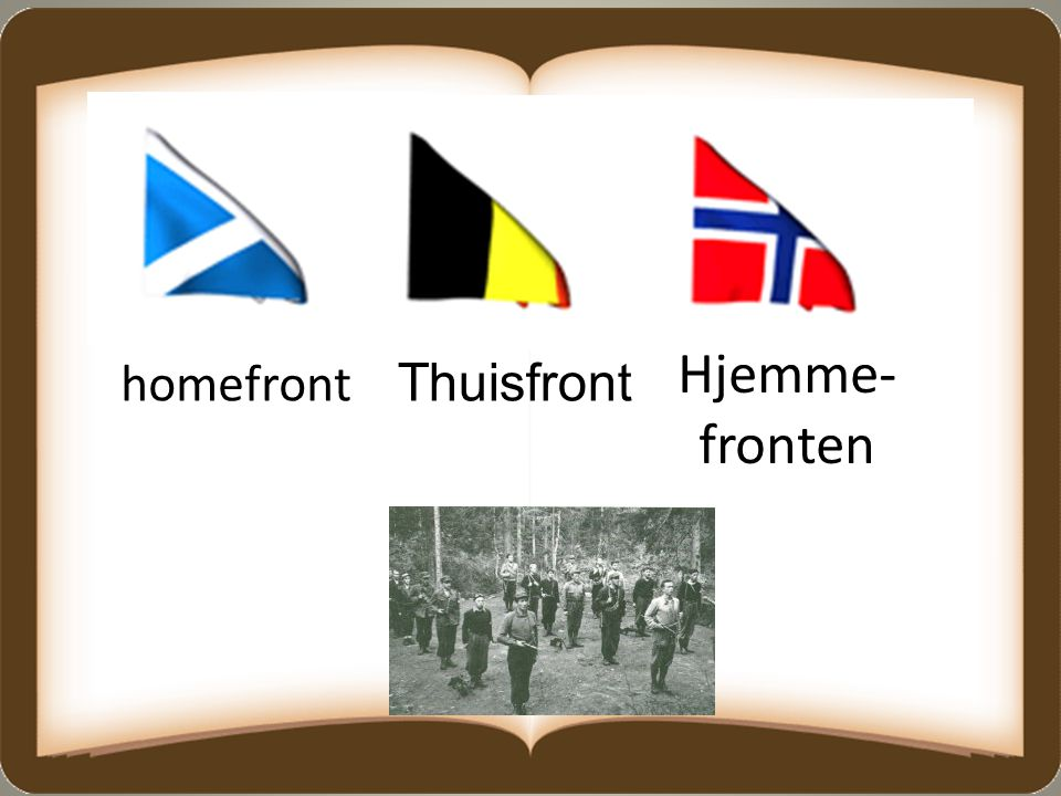 Hjemme- fronten homefront Thuisfront