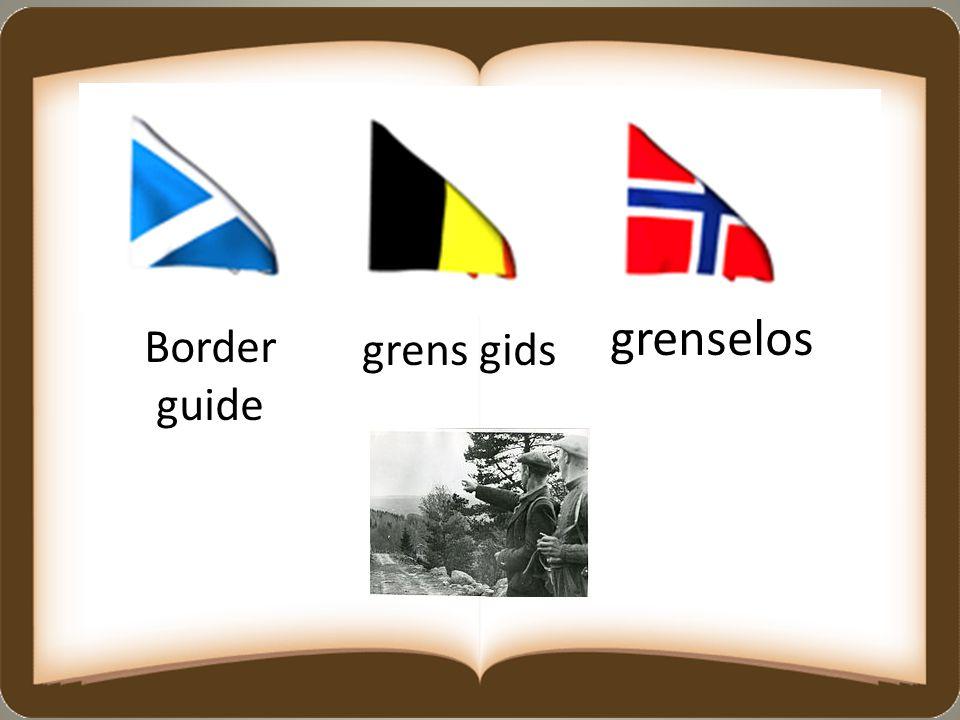 grenselos Border guide grens gids
