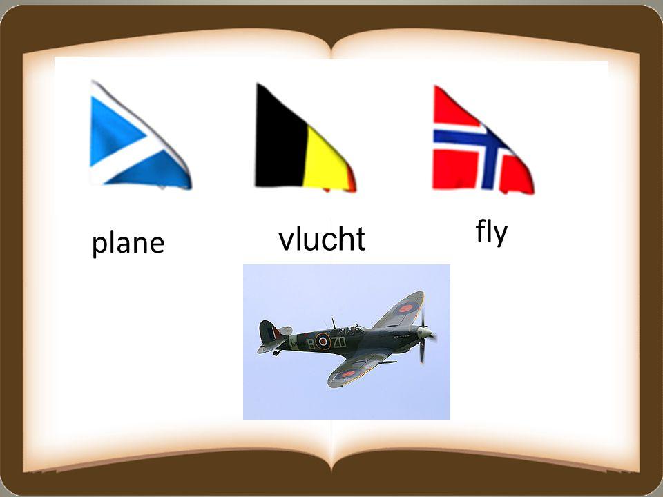 fly plane vlucht