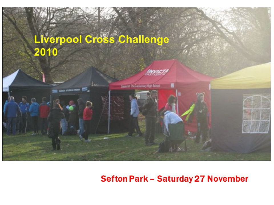 Sefton Park – Saturday 27 November Liverpool Cross Challenge 2010