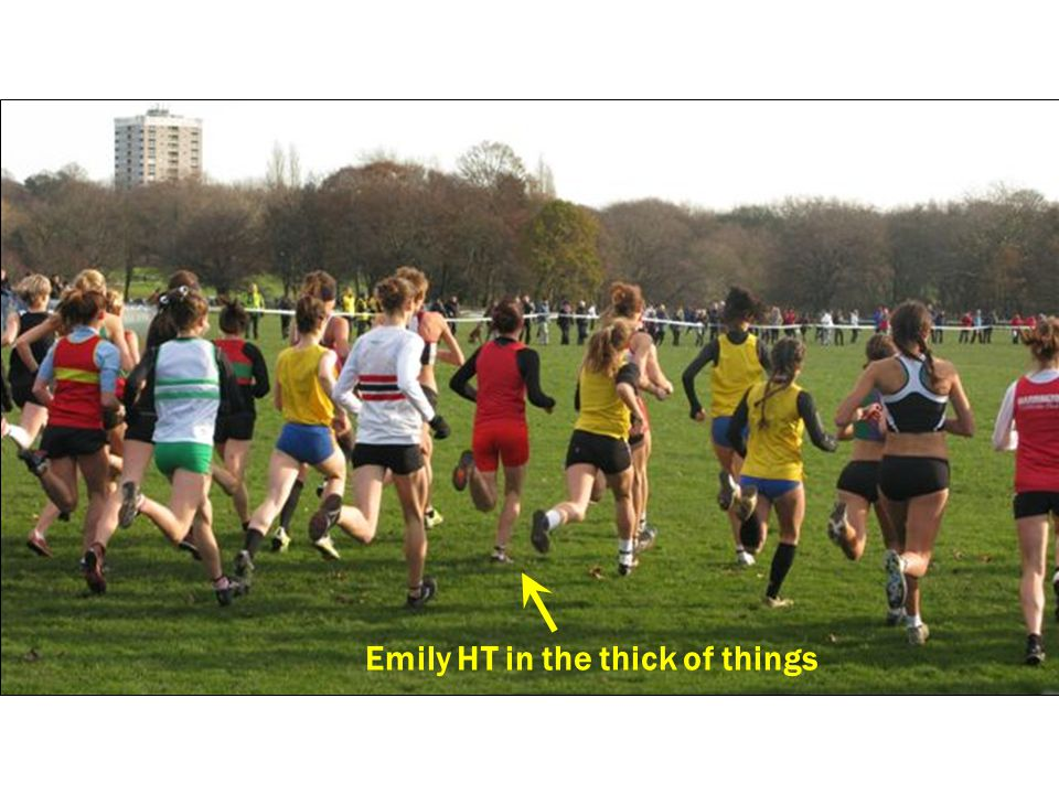 Emily HT in the thick of things