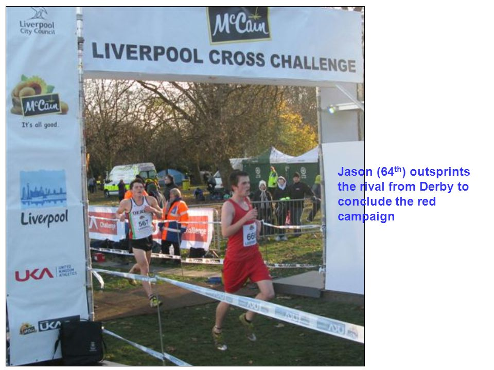 Jason (64 th ) outsprints the rival from Derby to conclude the red campaign