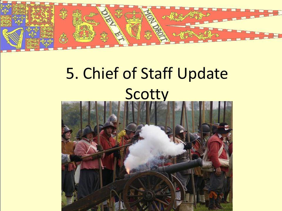 5. Chief of Staff Update Scotty