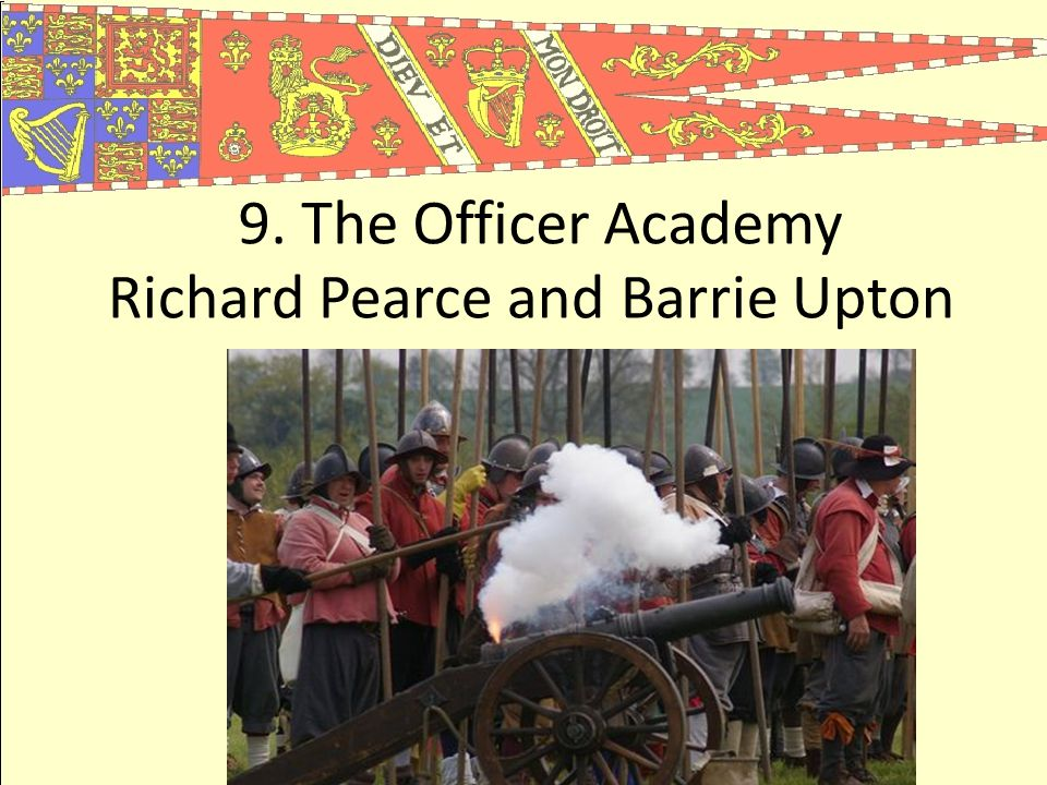 9. The Officer Academy Richard Pearce and Barrie Upton