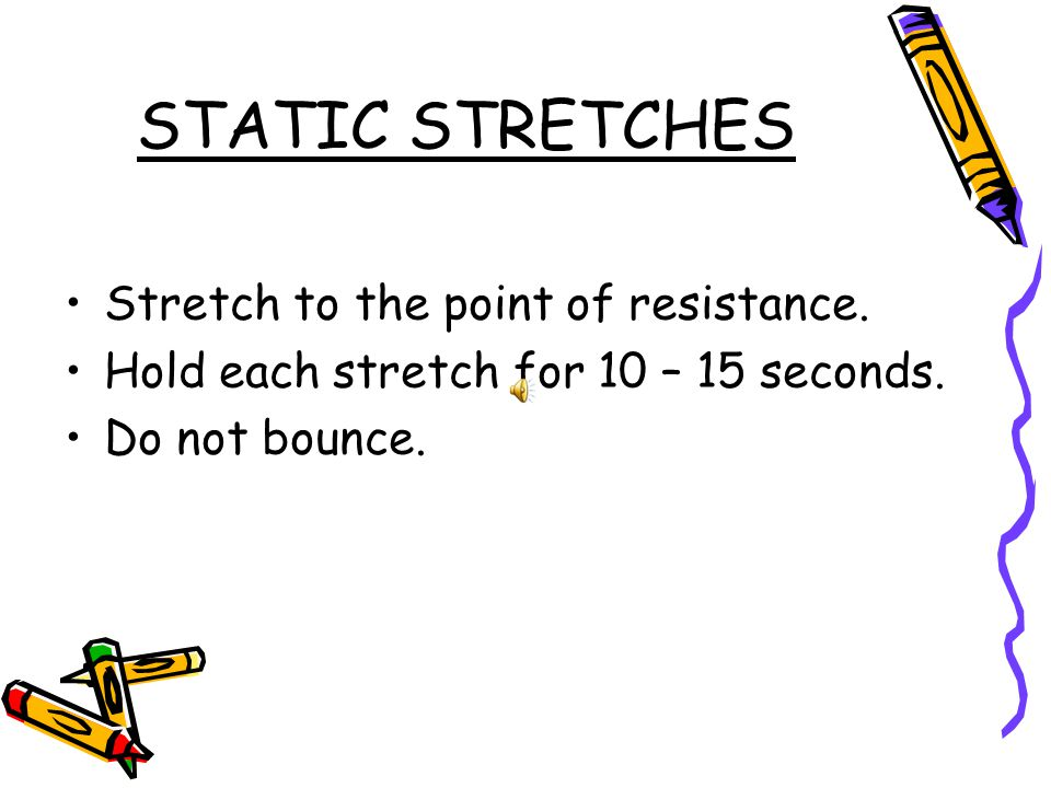 STANDING CALF STRETCH