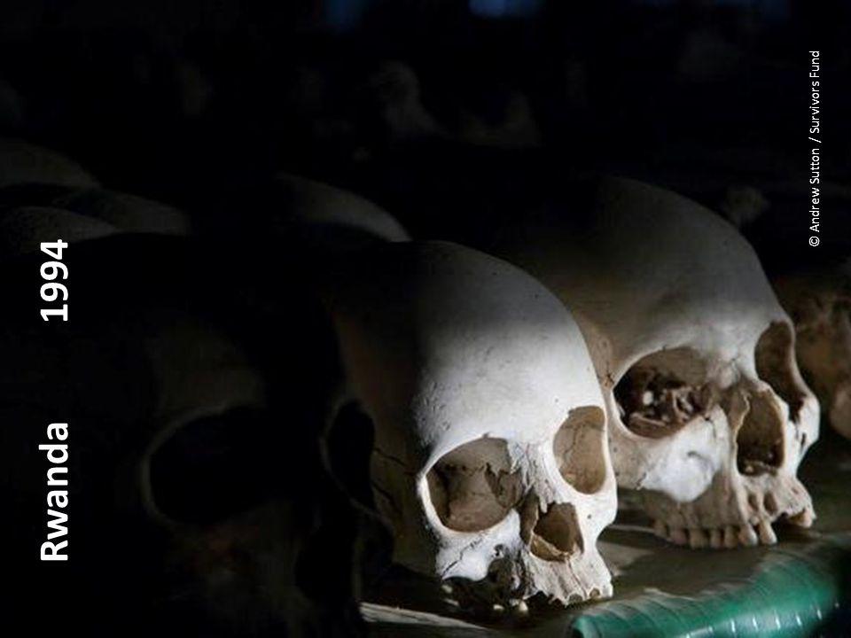 Rwanda 1994 © Andrew Sutton / Survivors Fund