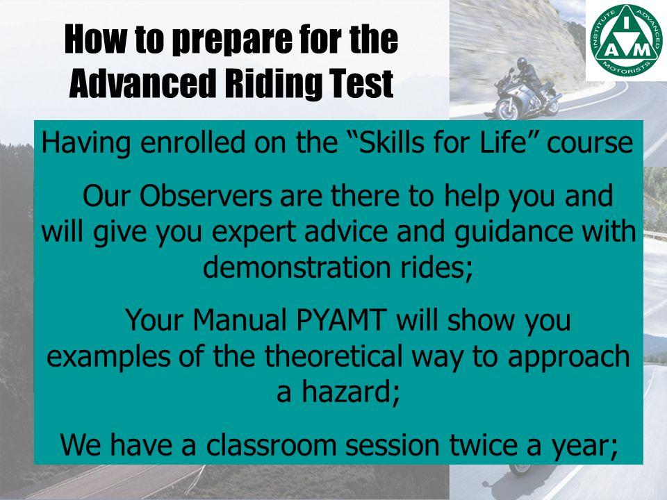 PROGRESSIVE TRAINING SENIOR OBSERVER QUALIFIED OBSERVER OBSERVER TRAINEE OBSERVER ------- PASS YOUR IAM TEST------- ASSOCIATE LIFETIME LEARNING SKILLS