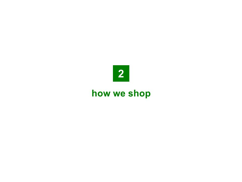 2 how we shop