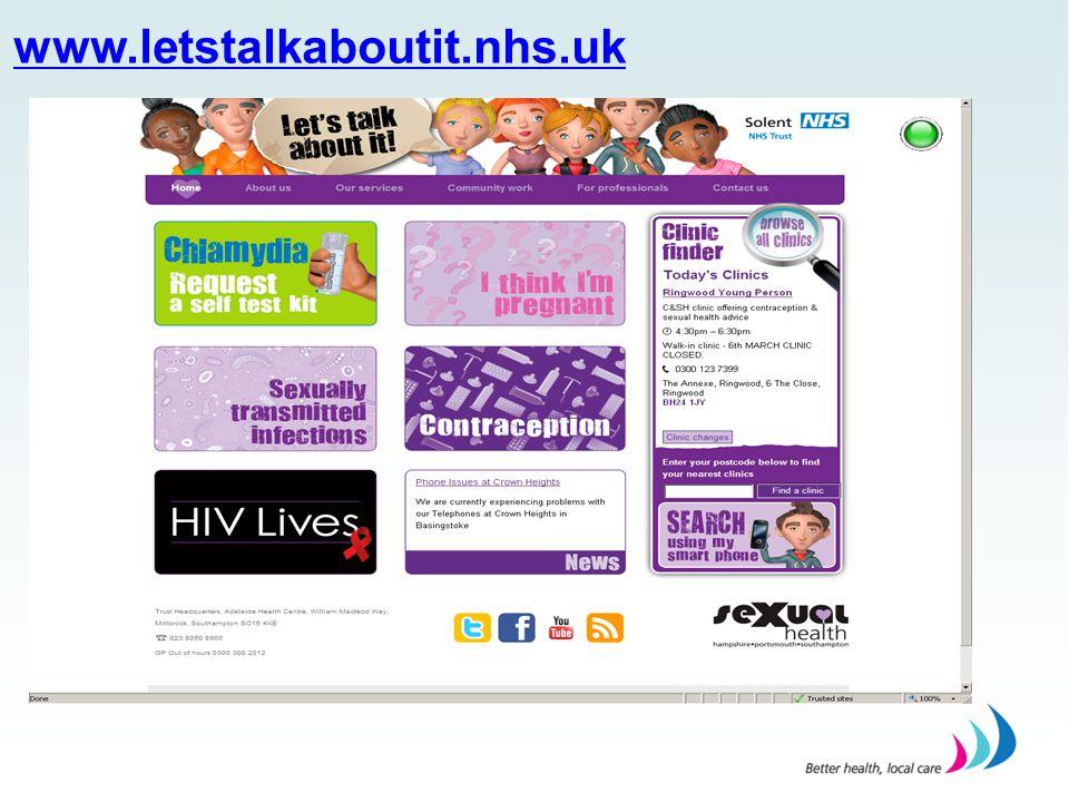 www.letstalkaboutit.nhs.uk