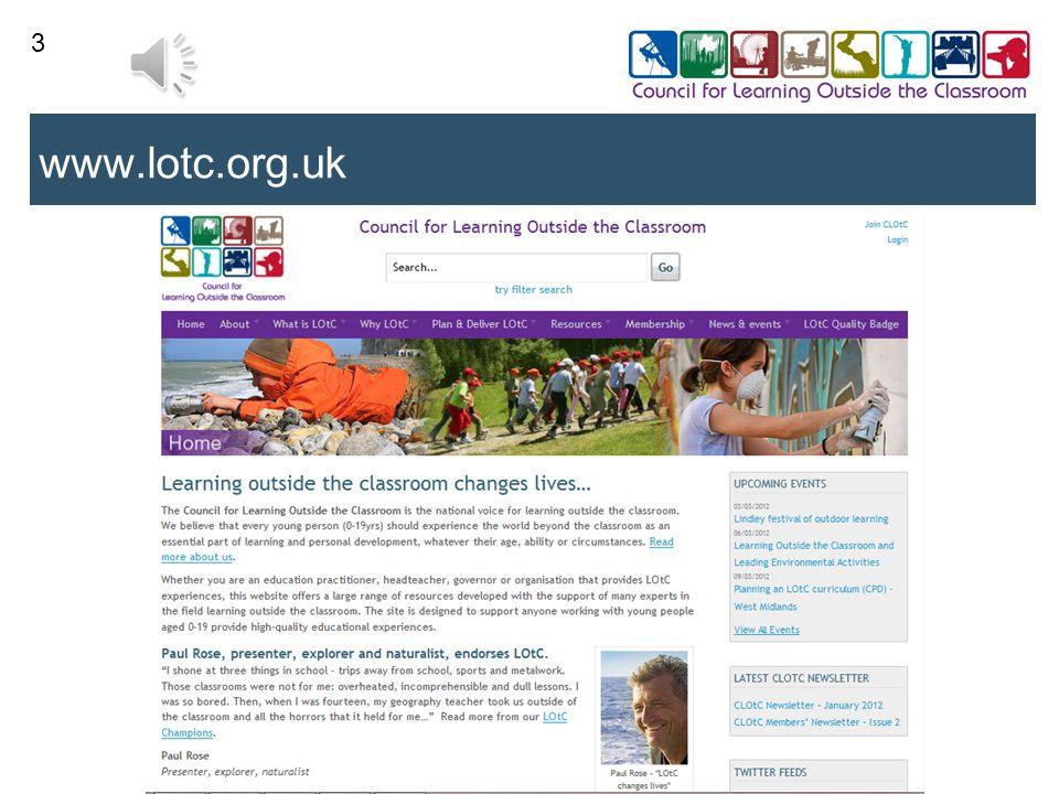 3 www.lotc.org.uk
