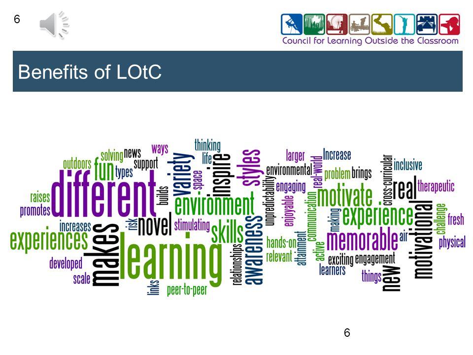 6 Benefits of LOtC 6