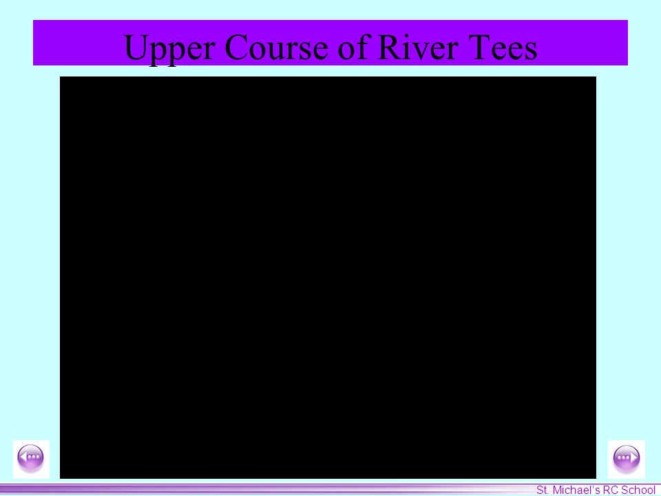 St. Michael's RC School Upper Course of River Tees