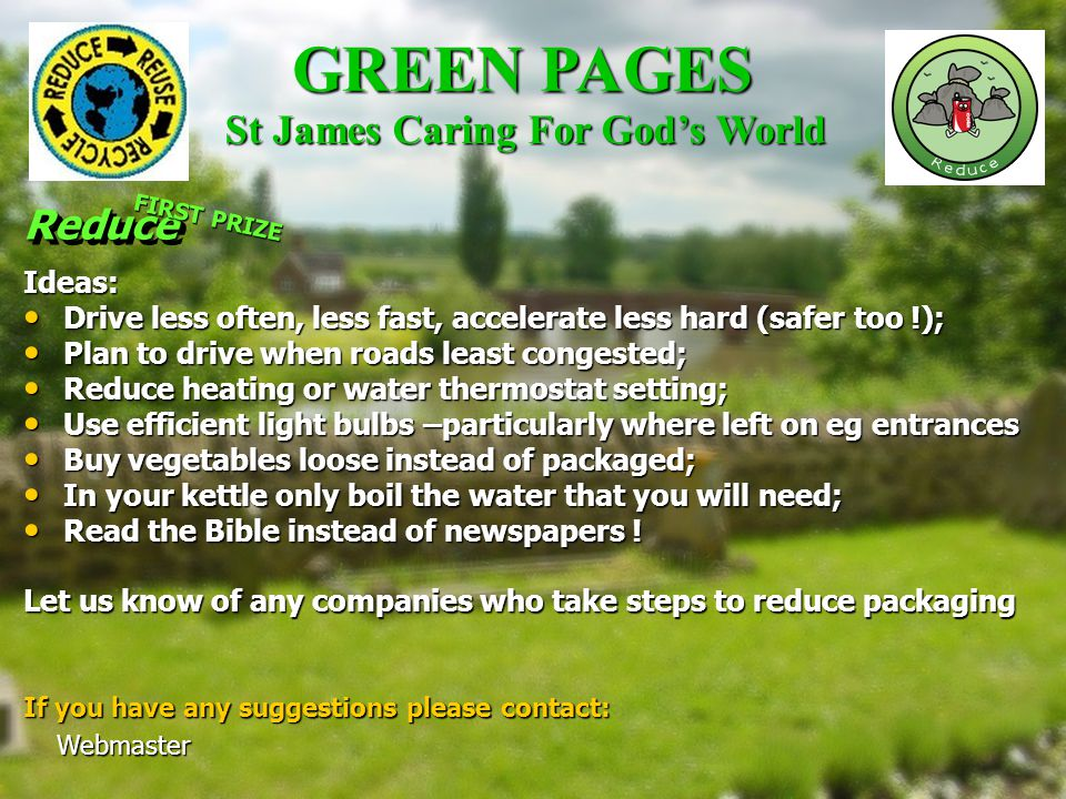 GREEN PAGES.