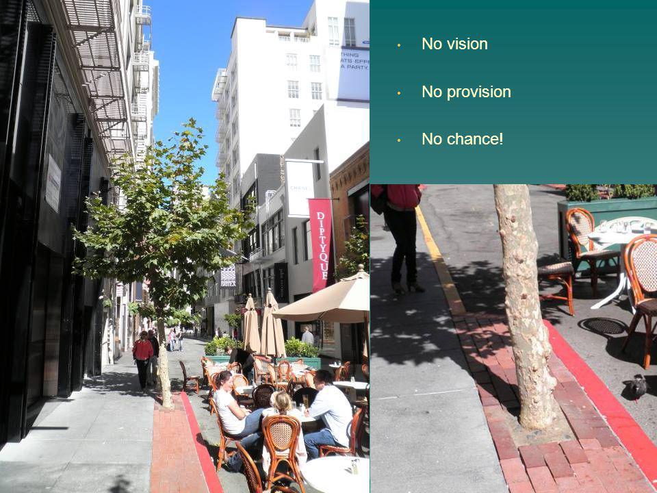 No vision No provision No chance!