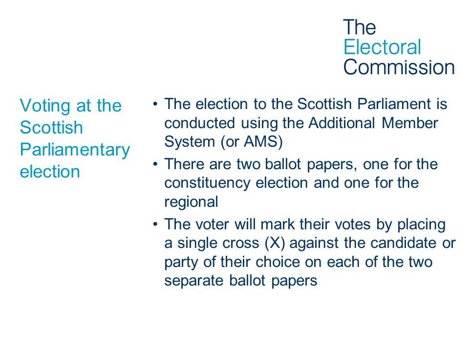 Issuing the ballot papers Marking the register and the CNL(s) –Make the elector confirm their name –Mark electors' elector number in the registerMark electors' elector number in the register –Enter the electors' elector number on the Corresponding Number List(s) (CNL(s))Enter the electors' elector number on the Corresponding Number List(s) (CNL(s)) –Do NOT write the elector number on the ballot paper.