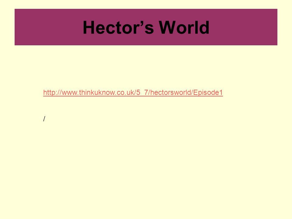http://www.thinkuknow.co.uk/5_7/hectorsworld/Episode1 / Hector's World