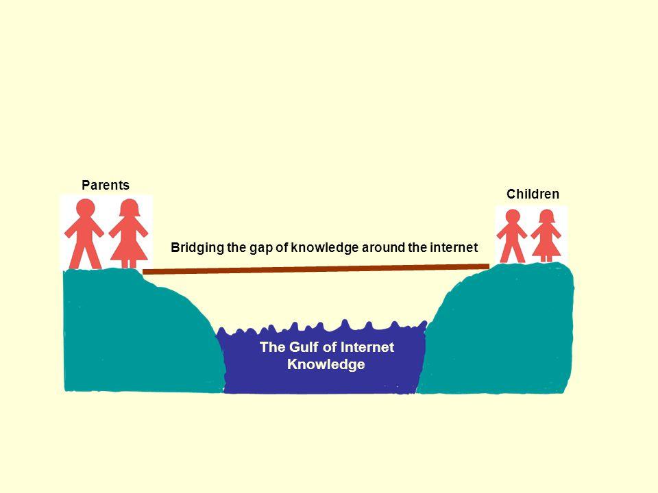 Parents Children The Gulf of Internet Knowledge Bridging the gap of knowledge around the internet
