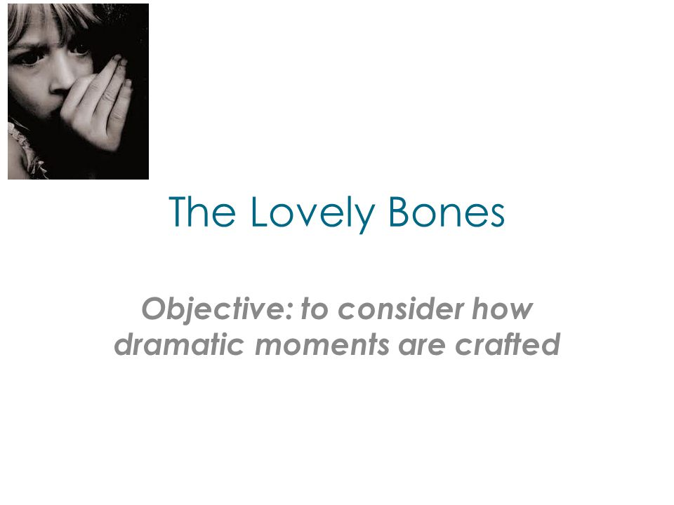 the lovely bones essay thesis