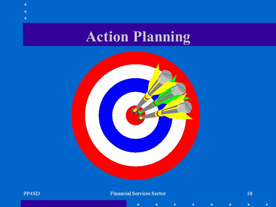 PP4SDFinancial Services Sector38 Action Planning