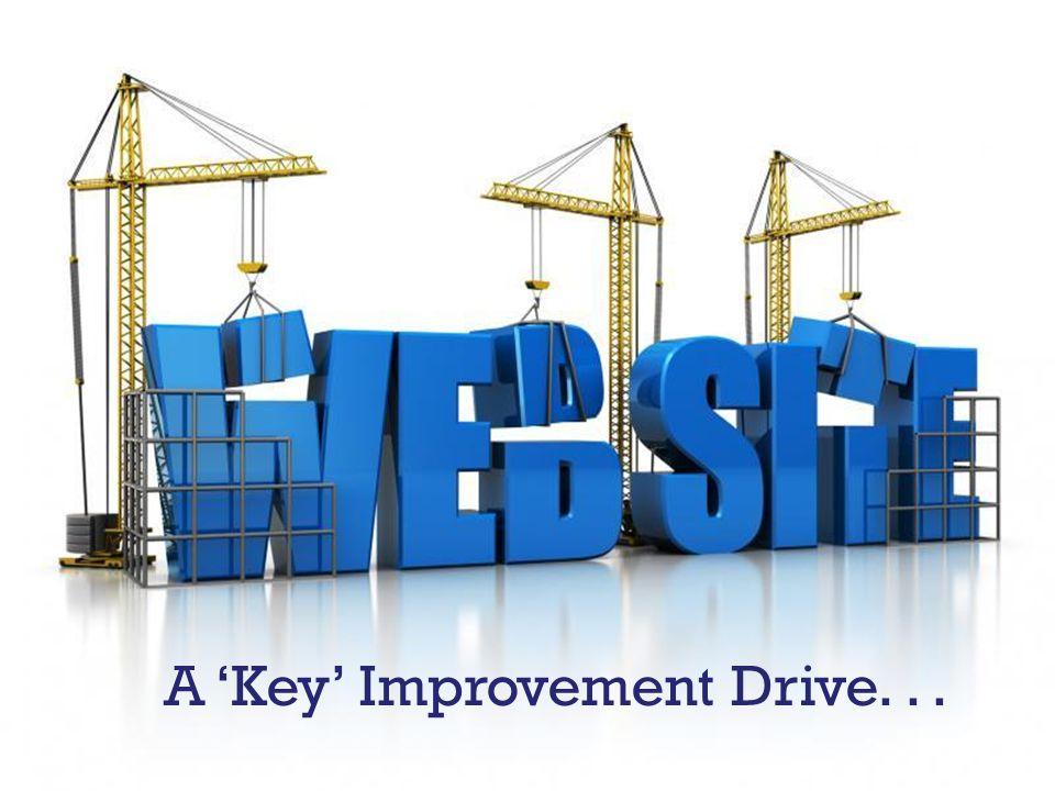 A 'Key' Improvement Drive...