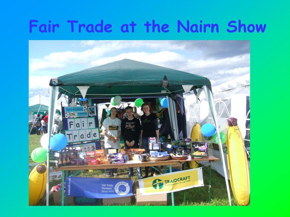 Fair Trade at the Nairn Show