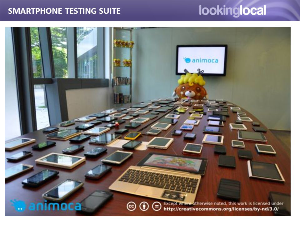 It is… SMARTPHONE TESTING SUITE