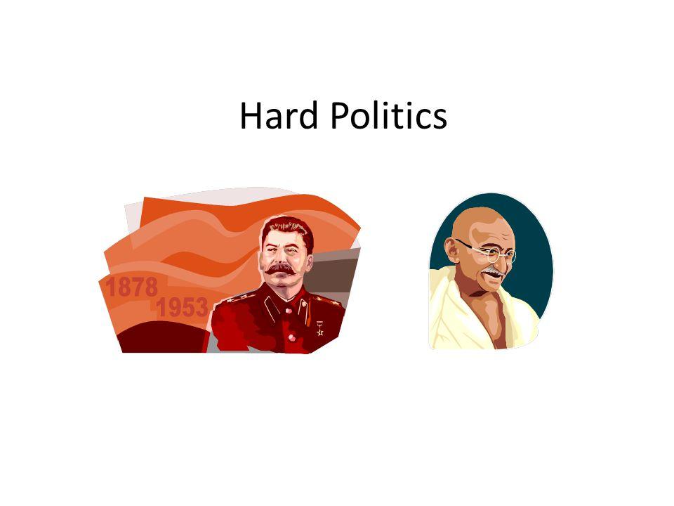 Hard Politics
