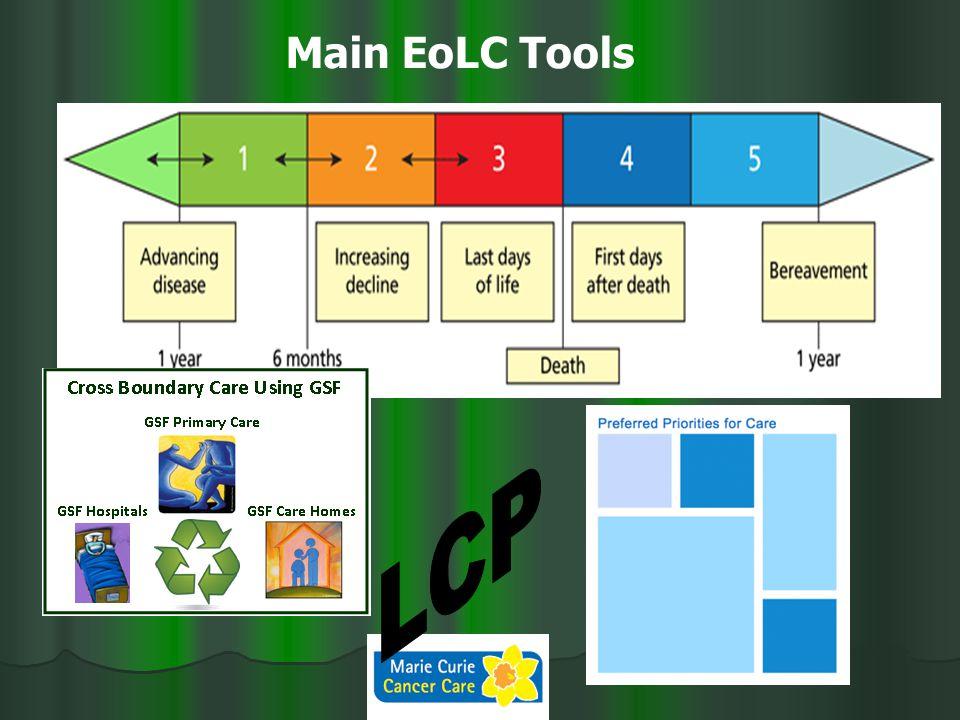 Main EoLC Tools