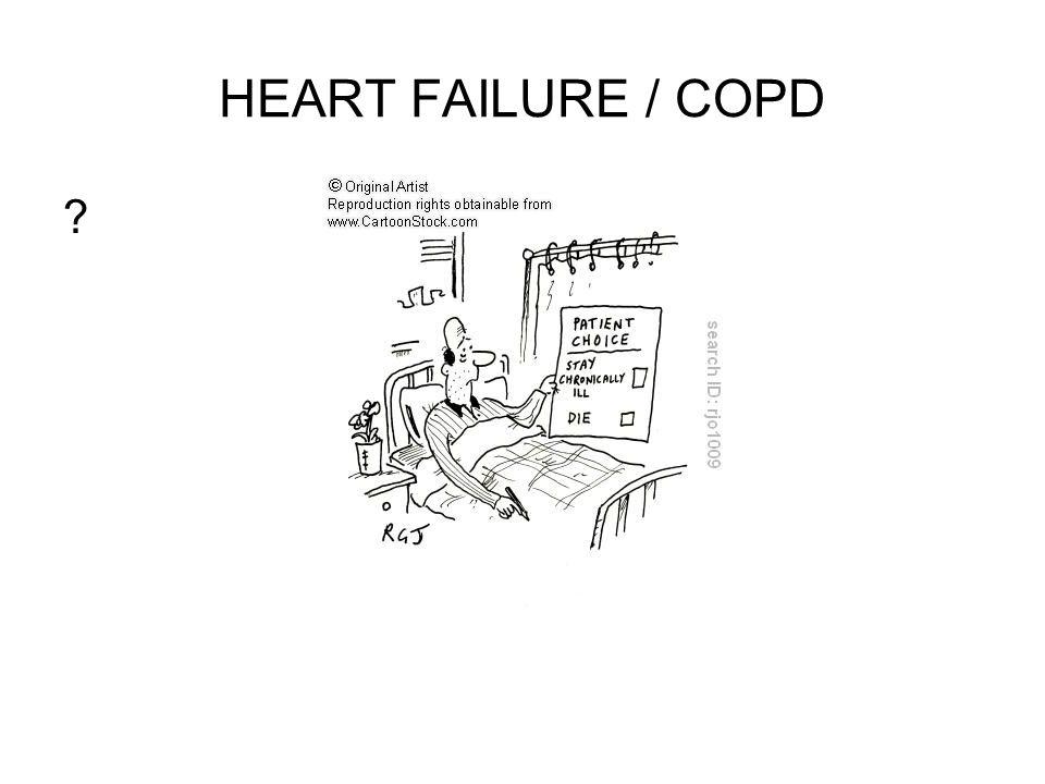 HEART FAILURE / COPD ?