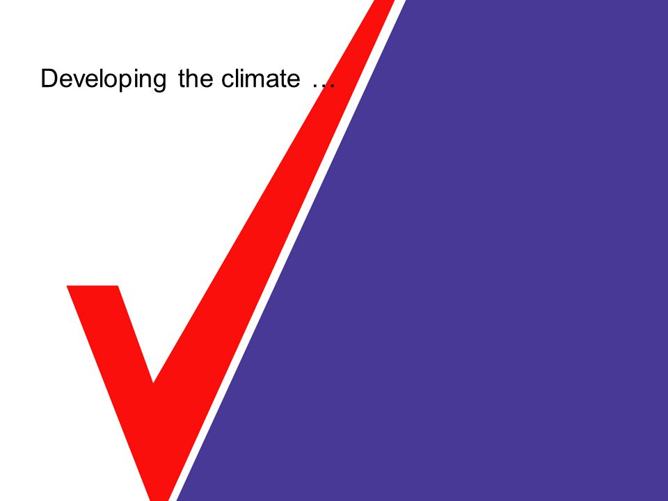 Developing the climate …