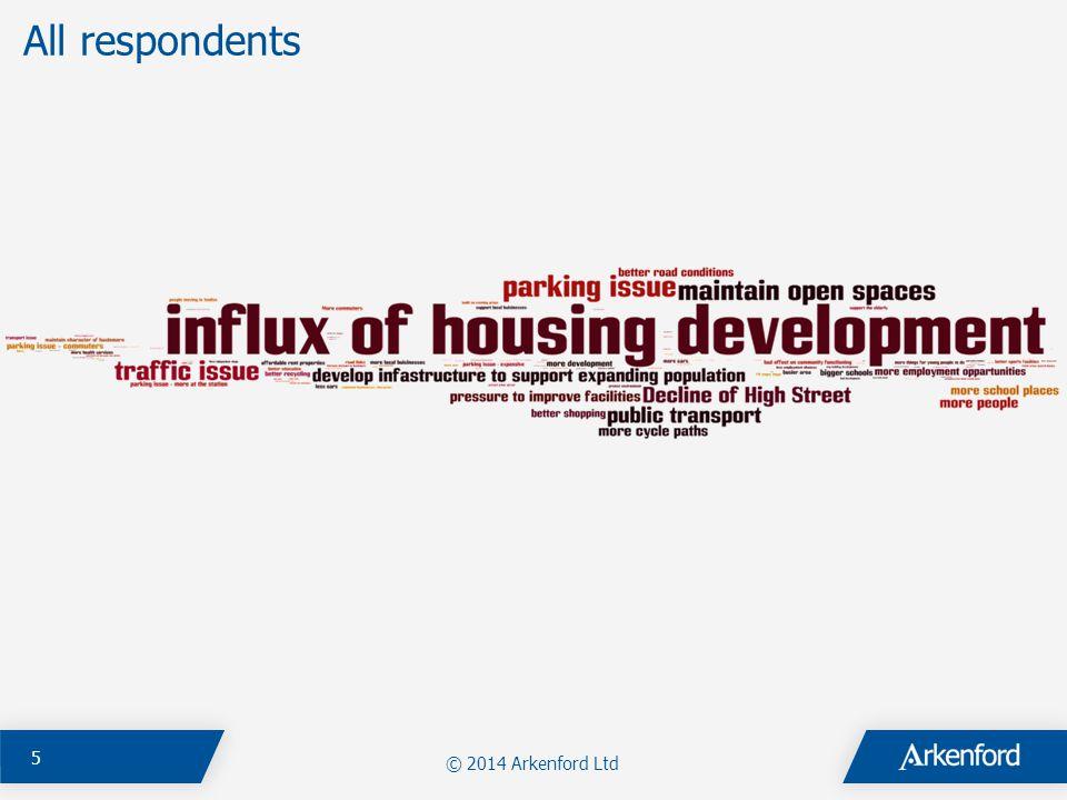 © 2014 Arkenford Ltd 5 All respondents