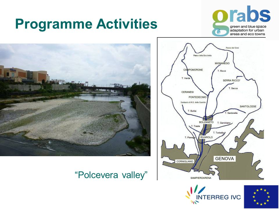Programme Activities Polcevera valley