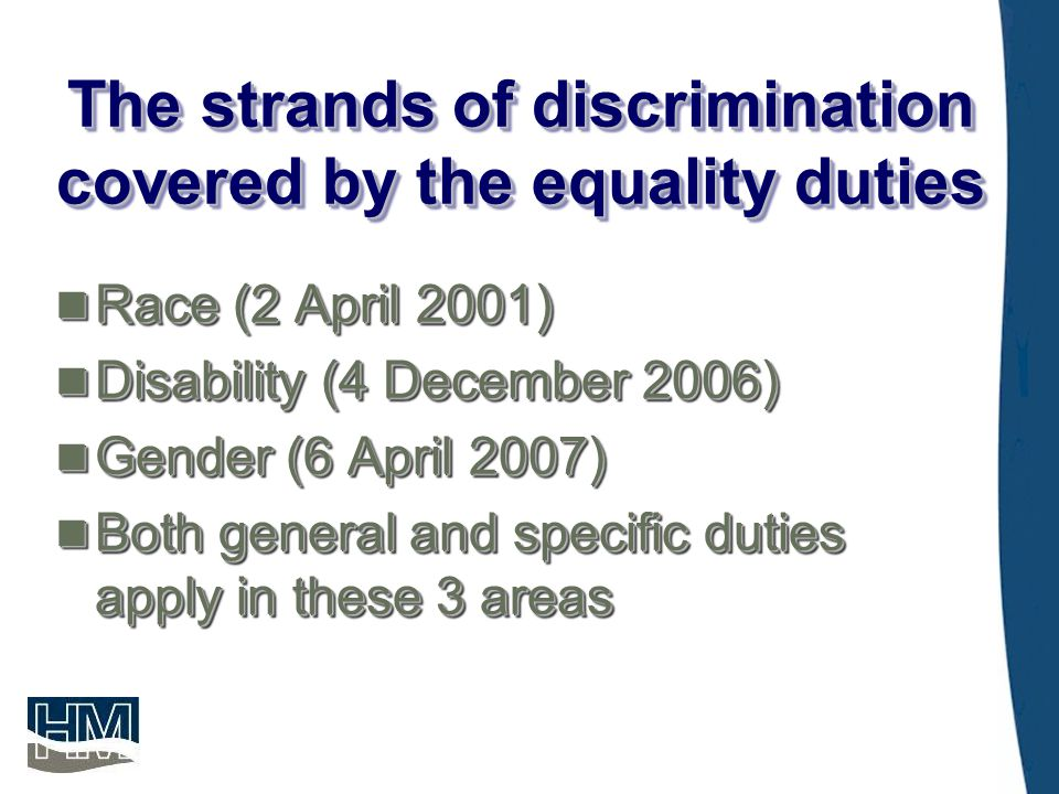 Examples of the Equality Duties in Practice  Leicester City Council offered building apprenticeships tailored to suit women.