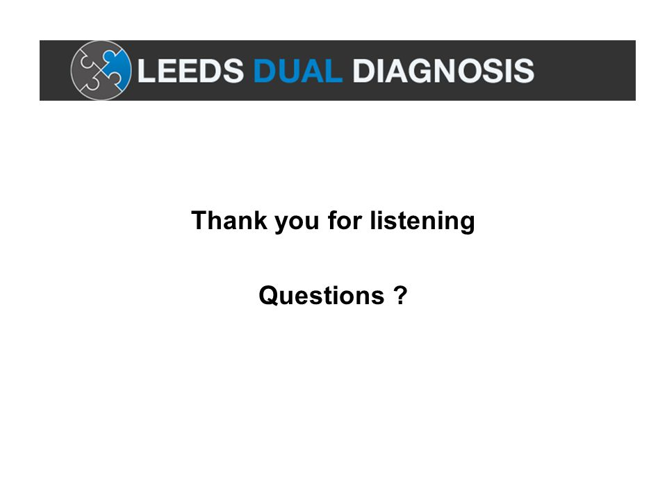 Thank you for listening Questions ?