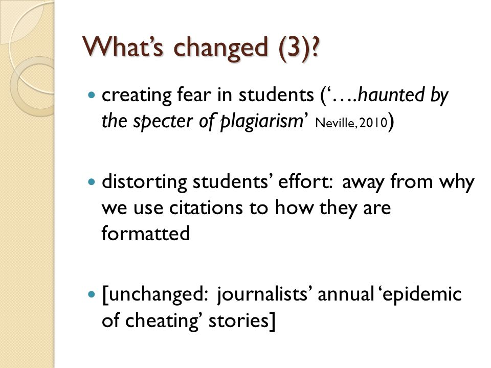 The bad news Some assessments make plagiarism more likely [Make or fake.