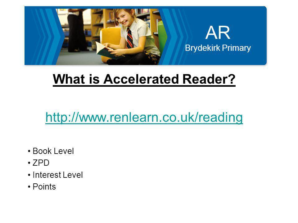 AR Brydekirk Primary Why now.