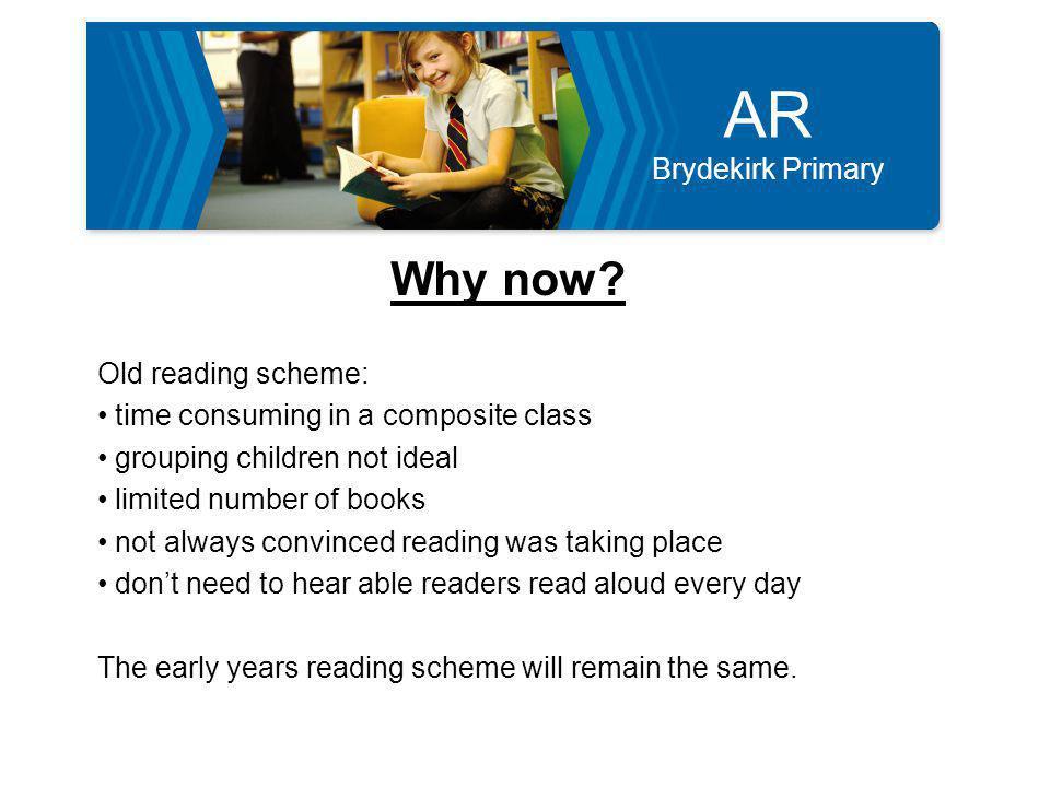 AR Brydekirk Primary What's happening.