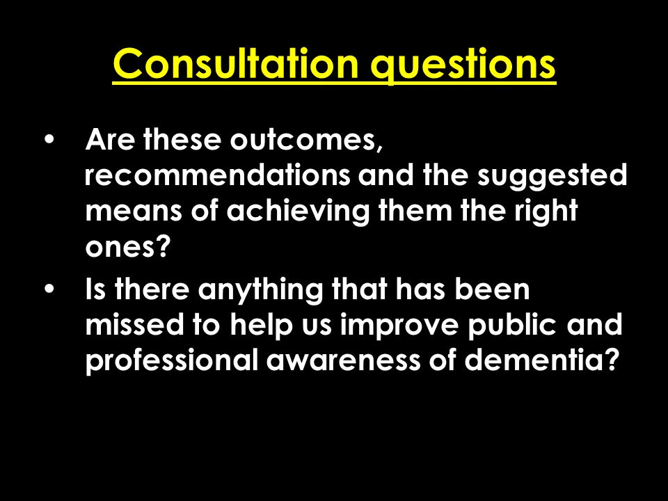Add date of event here CSIP Region logo here Consultation questions Are these outcomes, recommendations and the suggested means of achieving them the