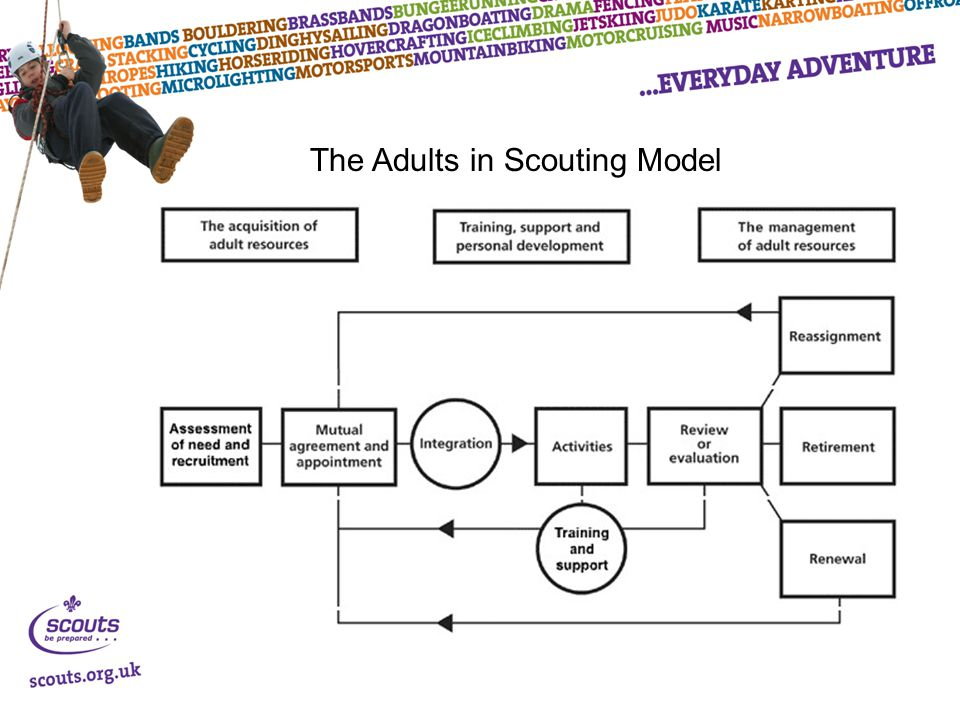 The Adults in Scouting Model