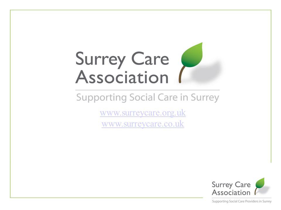 www.surreycare.org.uk www.surreycare.co.uk