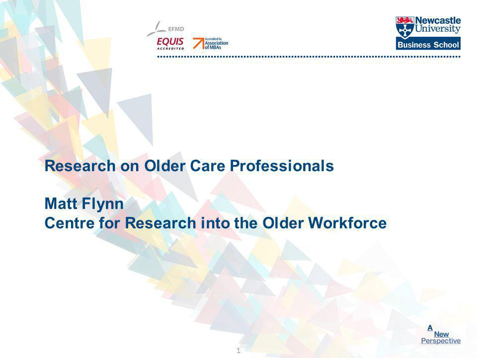 Click to edit Master title style About myself Centre for Research into the Older Workforce Age Diversity good practice Work for the NHS Working Longer Review Group, CIPD, Scottish Healthy Working Lives www.agediversity.org 2