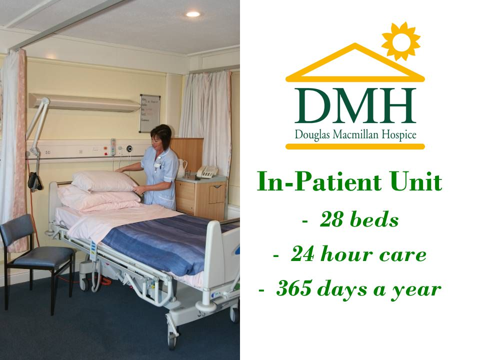 In-Patient Unit -28 beds -24 hour care -365 days a year