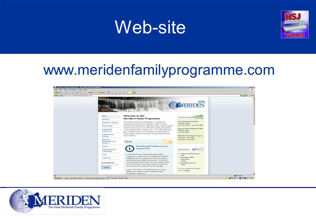 Web-site www.meridenfamilyprogramme.com