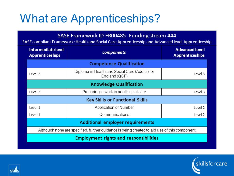 What are Apprenticeships.