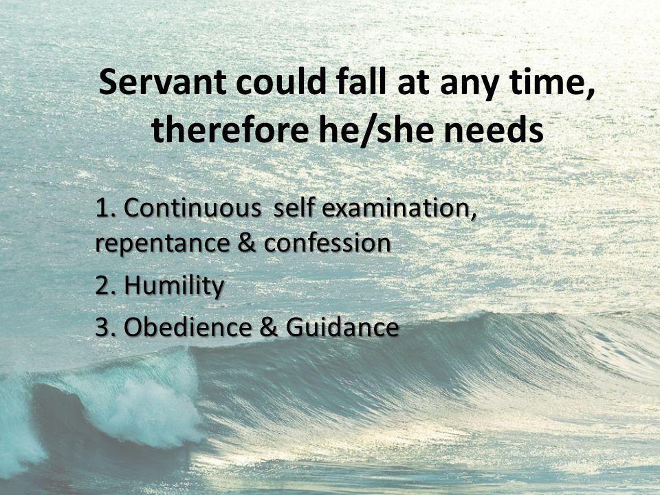 Danger of service 1.Spiritual void 2. Ignorance of God's word 3.