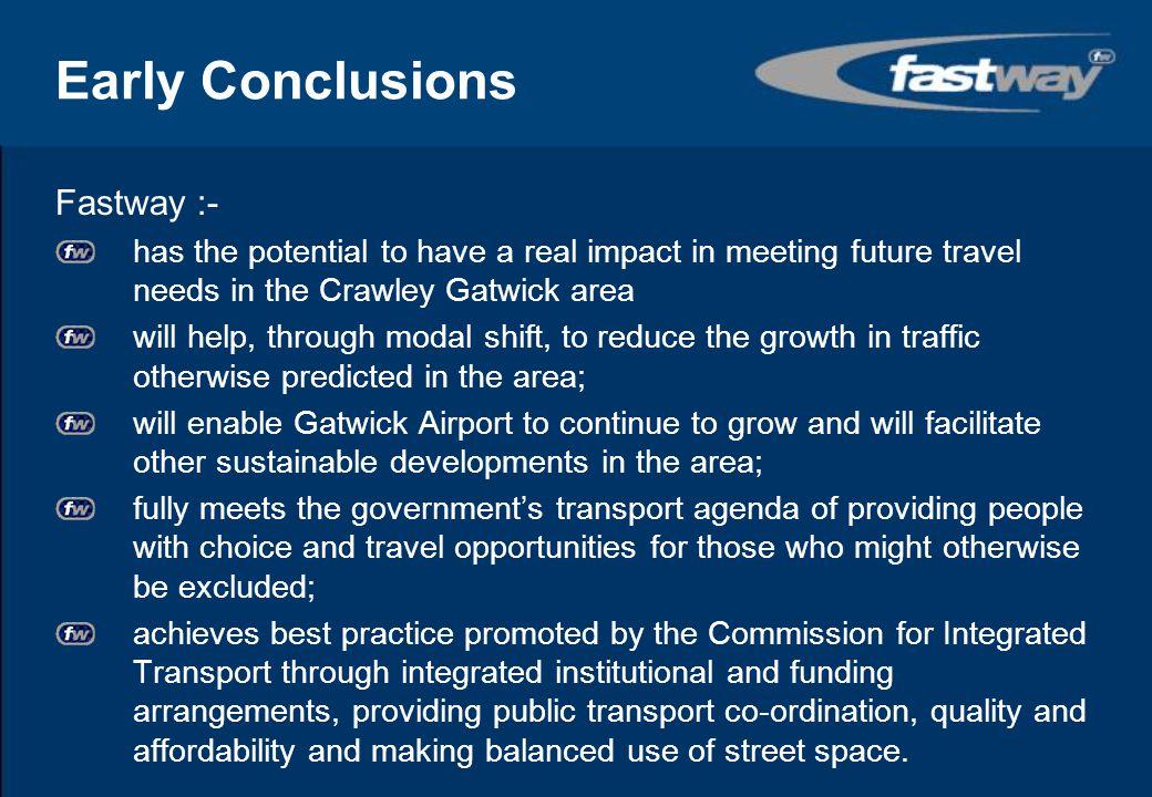 Funding Infrastructure Dept for Transport£16.6m£19.5m West Sussex CC£0.6m£5.5m Surrey CC£0.5m£1.0m BAA Gatwick £4.0m£1.0m (off airport) Developer Contributions £7.2m£3.0m £28.9m£30.0m +£3m on airport BAA Vehicle Costs Metrobus£3.0m