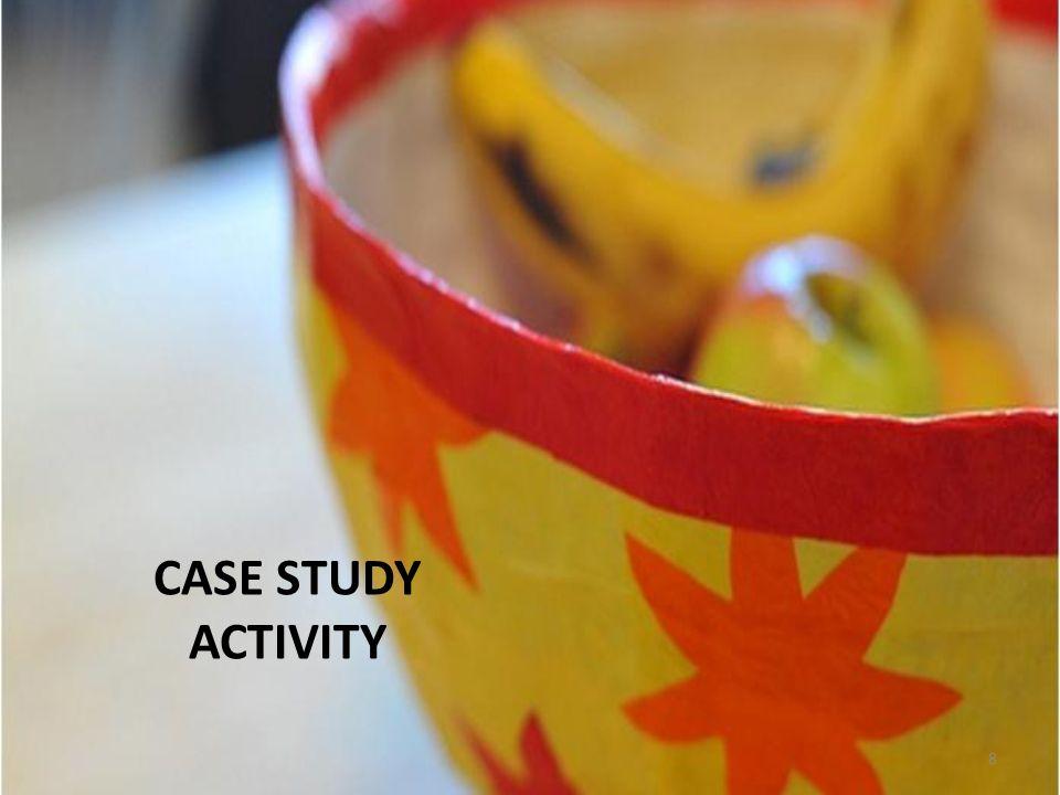 CASE STUDY ACTIVITY 8