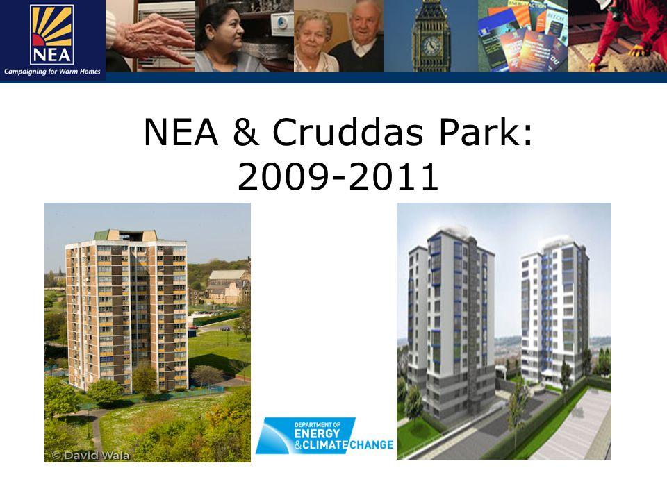 NEA & Cruddas Park: 2009-2011