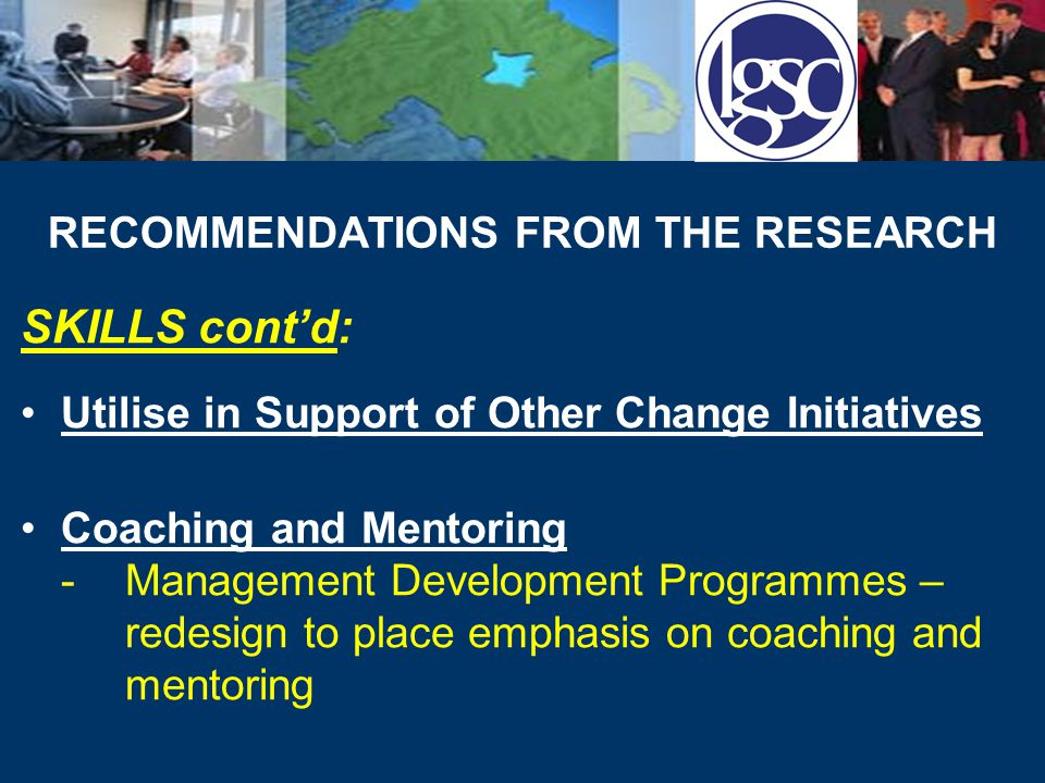 RECOMMENDATIONS FROM THE RESEARCH BARRIERS: Encouraging Support -Awareness raising events, create involvement opportunities Resource Provision -Target support and equitable distribution of funding, etc.